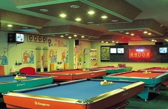 Cool sports bar ideas chron some sports bars feature games that can be played as well as televised sports watchthetrailerfo