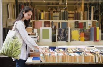 Specialize in a genre and a format before amassing an inventory for resale to an online bookstore.