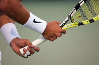 Over time, racket grips wear and need to be replaced.