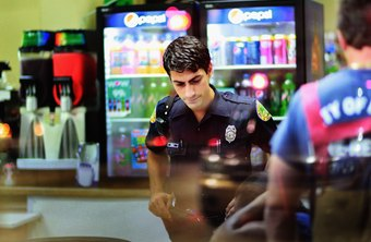 Establishing relationships with law enforcement can improve the convenience store's safety.