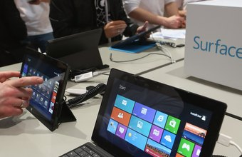 Microsoft's Windows 8 launched in October 2012.
