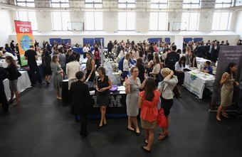 An effective job fair requires months of planning and preparation.