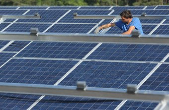 Selling solar power to the grid makes the meter spin in reverse.