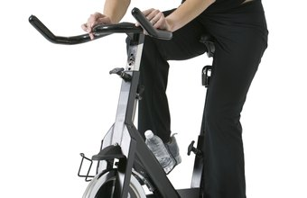 Exercise bikes are a low-impact workout option for beginners.