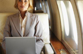 Business class cabins are more spacious than economy and offer fliers more amenities.