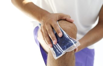 Ice is one method of easing leg pain from exercise.