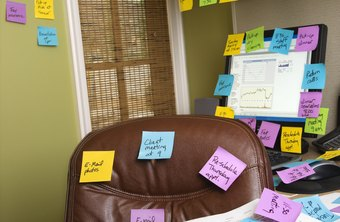 An effective instruction letter eliminates the need for a forest of sticky notes.