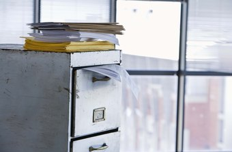 Make sure business documentation is stored and organized properly.