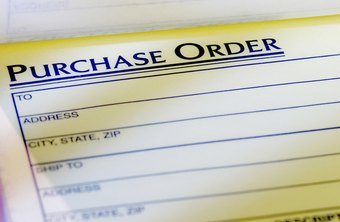 File the purchase order log with the corresponding POs.