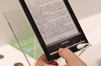 The Sony Reader consolidates countless books into a lightweight, portable reader.