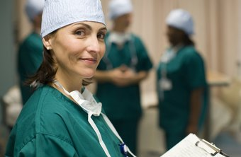 Some surgeons have supervisory roles at hospitals.