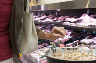 Tasty samples offer a marketing technique that stimulates the shopper's senses.