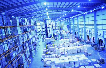 Large, centralized warehouses provide economies of scale.