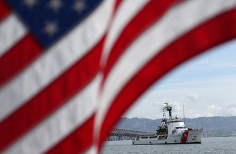 The Coast Guard helps protect American shores.