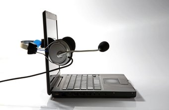 Use Skype to make business calls from your Dell laptop while traveling.