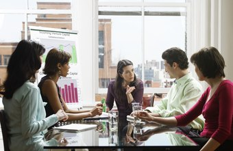 A human relations manager organizes employee training programs.