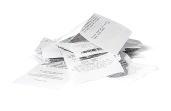 Scan and store receipts in Evernote to avoid losing important information.