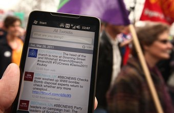 Twitter broadcasts 140-character messages.