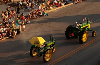 John Deere is the largest manufacturer of agricultural machinery in America.