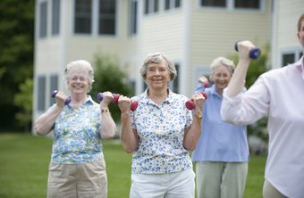 Jazzercise is popular among a range of age groups.