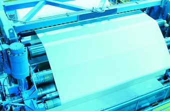 High-speed web printers use rolls rather than individual sheets of paper.