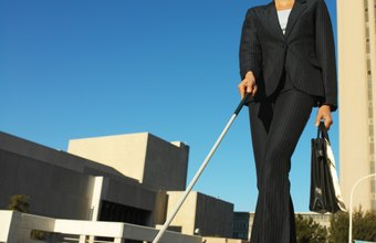 Blind administrative professionals work in hospitals and other medical facilities.