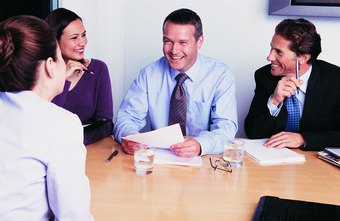 Laughter may reduce tension during job interviews.