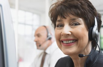 A customer service representative must be knowledgeable and patient.