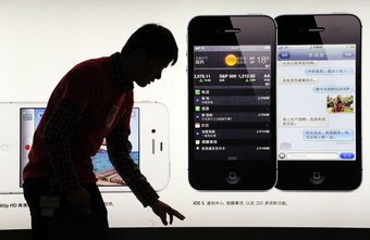 The iPhone has eight different Chinese keyboard options.