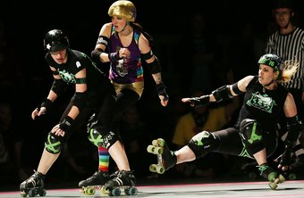 Combine roller derby with a lower calorie diet for faster weight loss.