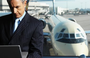 One of the more common small business deductions is airfare.