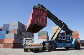 Freight brokers coordinate shippers and shipping companies.