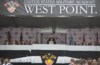 West Point, the U.S. Army's service academy, is in New York.