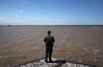 Border Patrol agents monitor the borders with Canada and Mexico.