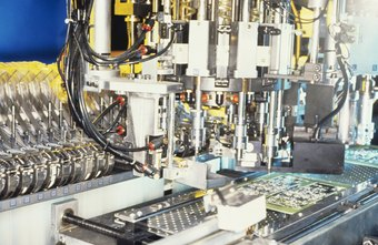 Manufacturing line components have to work at matched production rates.