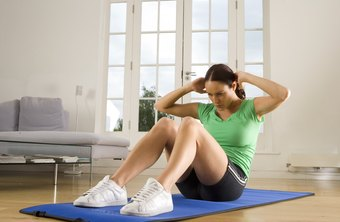 Sit-ups burn calories and strengthen your abs.