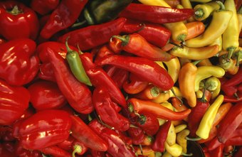 Paprika is made from a variety of dried, ground peppers.