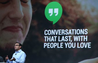 Google Hangouts on mobile can handle SMS messages as well as calls.