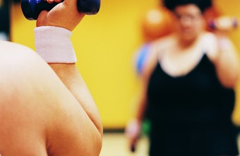 Gym workouts can help you lose weight.