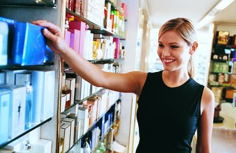 Sales associate is an entry-level position in the fragrance industry.