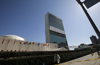 Only 40 percent of UN employees work at its New York City headquarters.