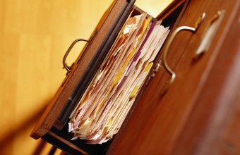 An efficient filing system is critical to tracking customer service requests.
