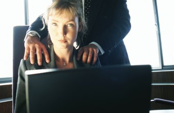 Workplace harassment doesn't have to involve physical contact.