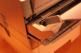 Laser printers combine speed with sharp output.