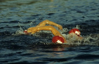 A tri suit may give you a mild advantage in an open water swim.