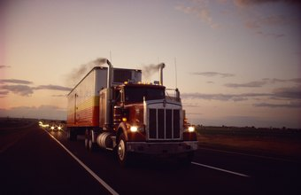 Trucking companies use trailers to transport freight.