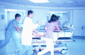 The ER nursing environment is exciting but also chaotic and sometimes dangerous.