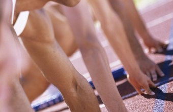 A sprint requires an immediate, explosive and full-body movement at the start.