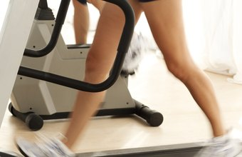 Tone your thighs using the treadmill.
