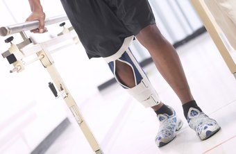 Navy physical therapy technicians frequently help rehabilitate service members after war injuries.